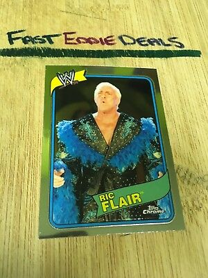 Topps Chrome Wwe Wrestling 2008 Nature Boy Ric Flair Card 56 Heritage Iii Wwf