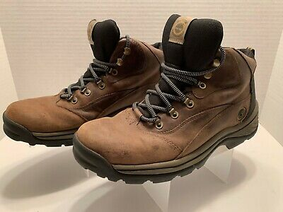 cab2c383a27 TIMBERLAND PERFORMANCE ACT Brown Leather Hiking Boots Shoes Men's 9 ...