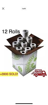"12 Rolls Premium Quality White 20"" Couch Roll Hygiene Roll Medical Salon Beauty"