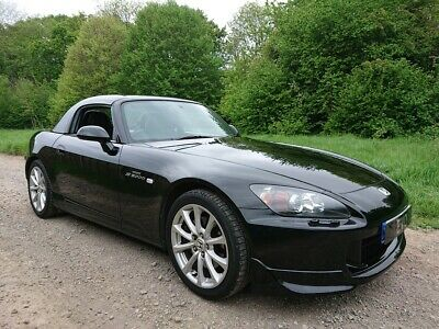 Honda S2000 GT 2007 58k Black Leather New SoftTop Private Plate 6 month Warranty