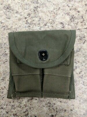 ORIGINAL WW2 US MILITARY M-1 CARBINE CANVAS AMMO POUCH 1940's
