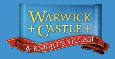 2  (4 Or 6) X Warwick Castle tickets - Pick Your Dates - OFFER ENDS THIS MONDAY