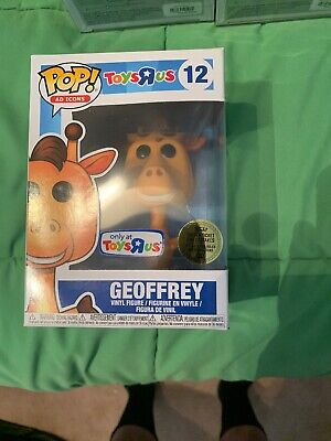 "Funko Pop! Ad Icons #12 Tru ""Geoffrey"" Golden Ticket Exclusive - Unsealed"
