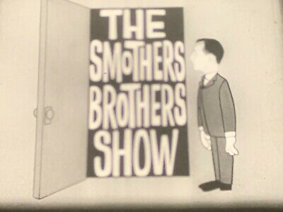 16Mm Cbs Tv Presents - The Smothers Brothers Comedy Show - 1/2 Hour - B&W W/Ad!