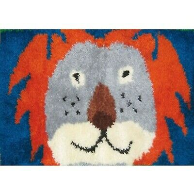 CARTOON LION LATCH HOOK RUG KIT from UK Seller, BRAND NEW