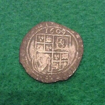 James The First Sixpence 1609