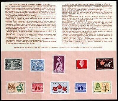 Weeda Canada Annual Souvenir Card 7, scarce unfolded variety CV $7.50+