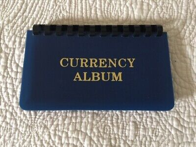 New - CURRENCY ALBUM For Small Size / Fractional Notes 10 Pages