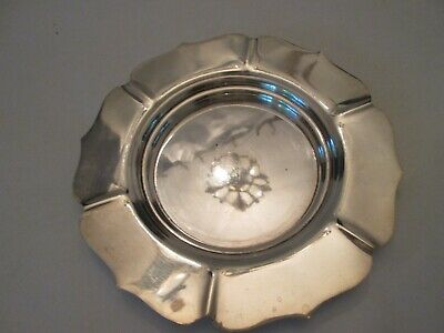 SERVING PLATE! Vintage WATSON Co STERLING 925 silver: petal edge: LOVELY