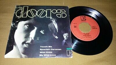 The Doors - Touch Me +3 7/45 Ep Portugal Ps Promo 1968 Rare Jim Morrison Psych