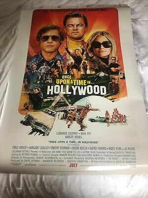 Once Upon A Time In Hollywood Theatrical Poster DS 27x40 mint Brand New