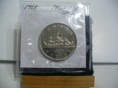 1968  Canada  Nickel  Dollar  Coin   Top Grade    68  Proof Like  Sealed