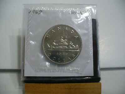 1969  Canada  Nickel  Dollar  Coin   Top Grade    69  Proof Like  Sealed