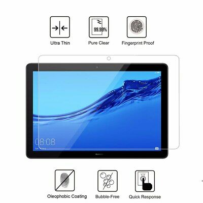 "Premium Tempered Glass Screen Protector for Huawei Mediapad Tablet T5 10 (10.1"")"