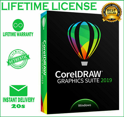 CorelDRAW Graphics Suite 2019🔑Lifetime License Key Activated - Fast Delivery 📥