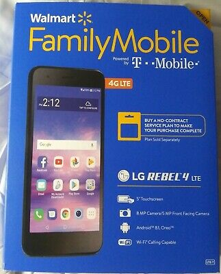 SIMPLE MOBILE LG Rebel 4 Brand New 4G LTE SmartPhone