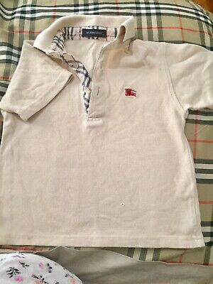 Burberry Toddler's Cream Polo (authentic)