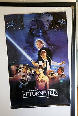 Star Wars Episode VI - Return of the Jedi Special Edition Movie Poster 1983 - A