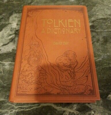 Tolkien: A Dictionary by David Day (English) Imitation Leather Book