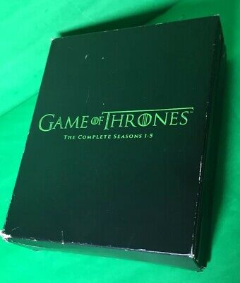 Complete Game of Thrones Seasons 1 to 5 Blu-ray Set