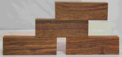 Desert Ironwood 4 turning blanks knife scales 5.2 x 1.7 x 1.2 Grade A Group SQ