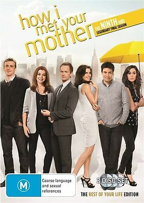 How I Met Your Mother Season 9 DVD 2014 3-Disc Set Brand New Sealed