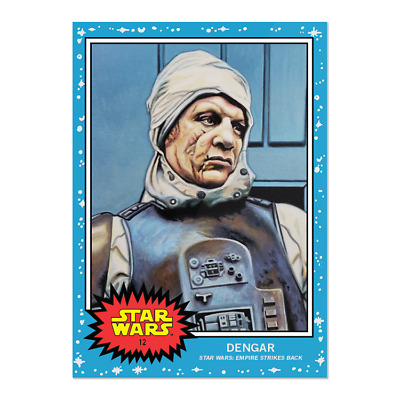 2019 Topps Living Set Star Wars Card #12 Dengar Sold Out Ship This Wknd Pr 1641