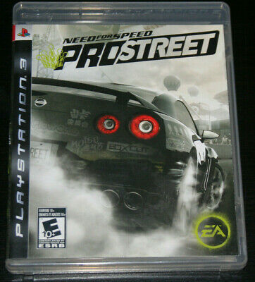 Need for Speed: ProStreet (Sony PlayStation 3, PS3, 2007)