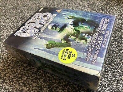 Doctor Who Ice Warriors VHS Limited Special Edition Gift Box Set NEW SEALED SET