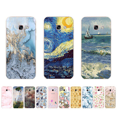 Soft TPU Case for Samsung Galaxy A3 A5 A6+ 2015 2016 2017 2018 A10 Cover Star