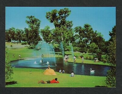 s487)  WESTERN AUSTRALIA PC OF PIONEER WOMAN'S FOUNTAIN KINGS PARK PERTH IN 1969