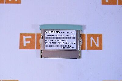 SIEMENS 6ES7951-0KG00-0AA0 S7, memory cards for S7-300 - USED TESTED