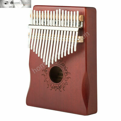 17 Key Kalimba Thumb Piano High-Quality Wood Body Sanza Mbira Musical Instrument