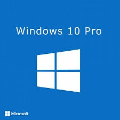 Microsoft Windows 10 Pro Professional Multilingu 32/64Bit Key Esd Licenza A Vita