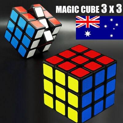 Latest Magic Cube 3X3X3 Super Smooth Fast Speed Rubik Puzzle Rubics Rubix Cube