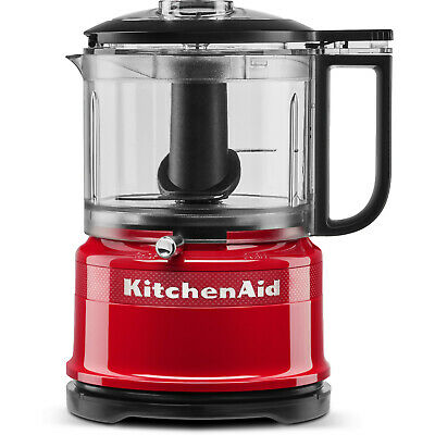 KITCHENAID 5KFC3516HESD Queen of Hearts, Kompaktküchenmaschine, 240 Watt, Rot