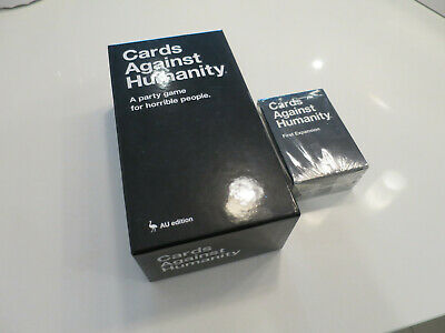Cards Against Humanity AU edition + First Expansion