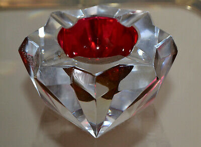 BACCARAT SAINT-LOUIS  Cristal bicolor - Ashtray SAINT-LOUIS Crystal bicolor