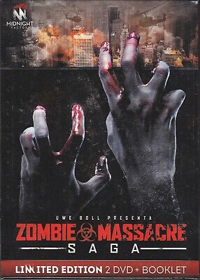 2 Dvd +Booklet **ZOMBIE MASSACRE ~ SAGA** limited edition nuovo 2012