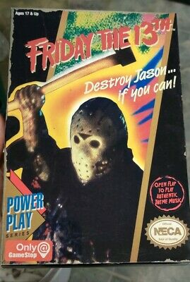 """Friday the 13th Jason Voorhees video game version Neca figure about 7"""" tall"""