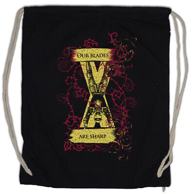 Our Blades Are Sharp Drawstring Bag Game of House Bolton Sign Symbol Thrones