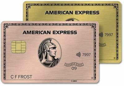 Amex Premier Rewards Metal Rose Gold card Referral 42k points+ extra $40 from me