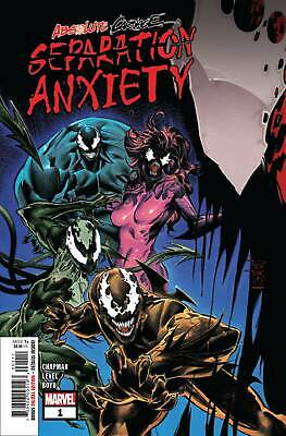 Absolute Carnage Separation Anxiety #1 (2019) Cover A Ships 8/14/19 $4.99 Cover