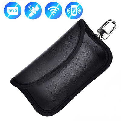 Mini Car Key Signal Blocker Case RFID Bag Signals Blocking Pouch for Keys