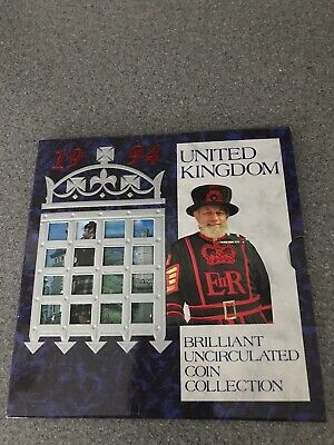 United Kingdom Brillant Uncirculated Coin Collection 1994 Mint Condition