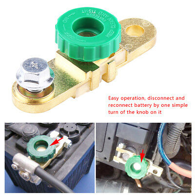 Car Battery Link Terminal Quick Cut-off Disconnect Master Kill Shut Switch SS