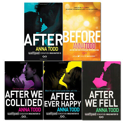 The Complete After Series Collection 5 Books Set by Anna Todd NEW After We Fell
