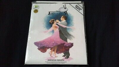 American Smooth Dancing Cross Stitch Kit by Heritage