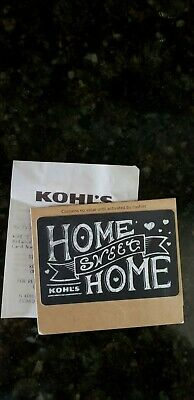 Kohl's $150 Gift Card Brand New Ready To Use In Store Or Online Great Gift Idea!