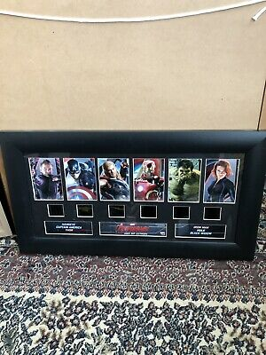 Marvel Avengers Age of Ultron 2015 film cell display